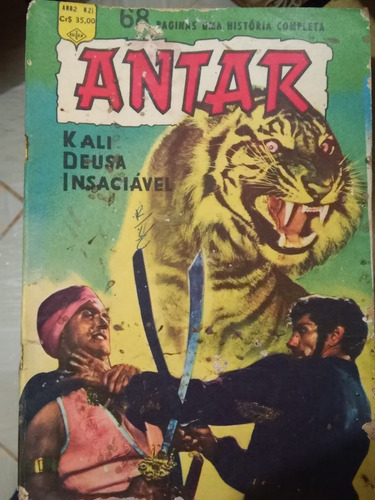 antar o herói da selva nº 21 - ediex- 1961- tarzan no cinema