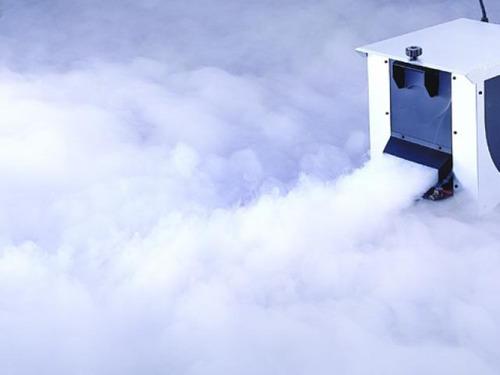 antari ice-101 maquina humo bajo funciona c/hielo y liquido