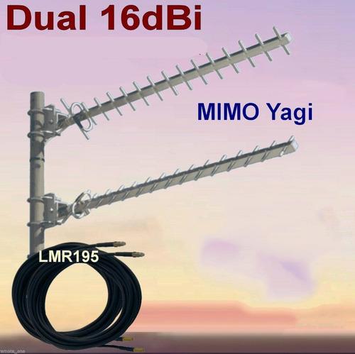 antena 4g rural internet mimo 2x2 estudio factibilidad