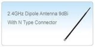 antena 9dbi  alfanetwork ars-n19c 2.4ghz conector  n male