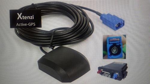 antena activa para gps conector azul