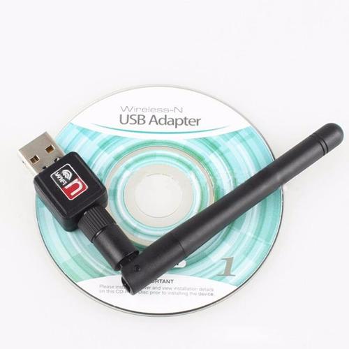 antena / adaptador wifi usb inalámbrico omnidireccional