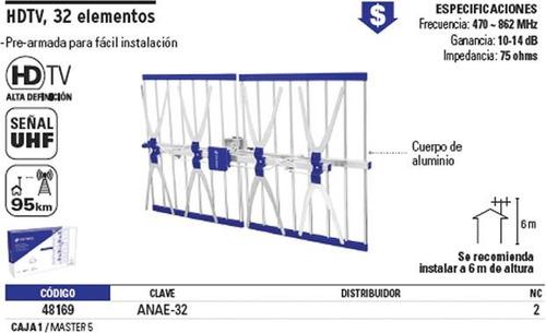 antena aerea 28 elementos voltech 48169