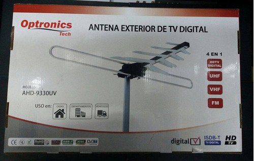 antena aérea ahd-9429,9330,9255 +10 metros de cable