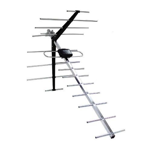 antena aerea para tv uhf vhf hdtv fm 17 elementos