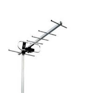 antena aerea power & co. hd tv exteriores. 55 km alcance / 1