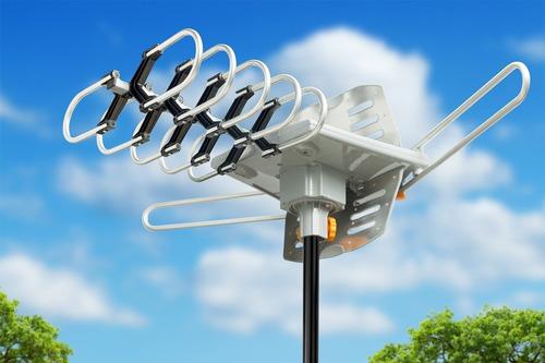 antena amplificada 150 millas isdb-t hdtv