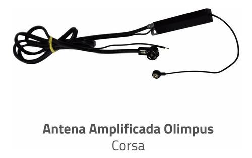 antena amplificada para chevrolet corsa original olimpus