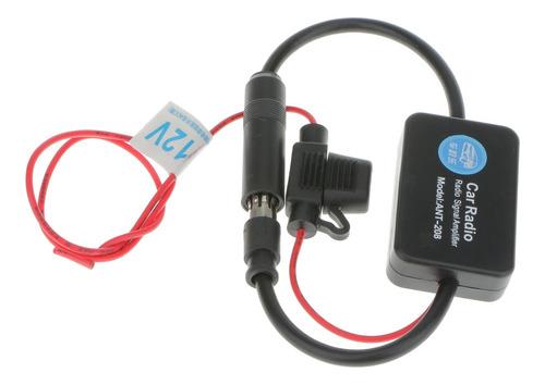 antena amplificador señal de radio fm am para coche auto