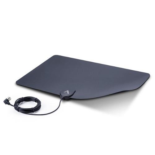antena aquário folha de papel discreta dtv-250 para smart tv