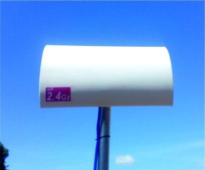 antena cliente wifi cpe hasta 1,5k cable utp enlace internet