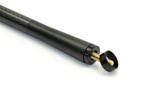 De fibra de carbono mini deportes estilo corto antena