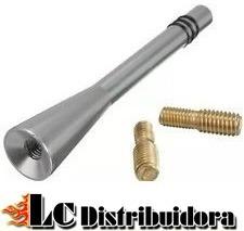 antena corta peugeot 206 207 208 307 308 408 aluminio 8cm