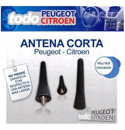 antena corta trasera 6cm peugeot 206 100% original