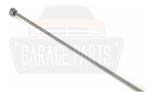 antena cromada 4 estágios base reta corcel belina pampa