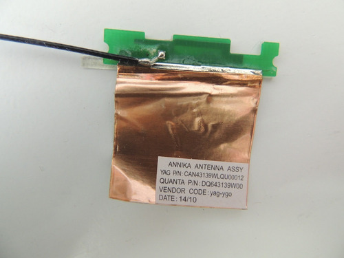 antena da wireless de netbook hp mini 210 1025br usado