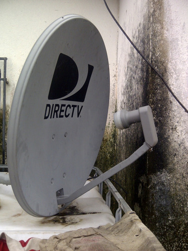 antena de directv completa