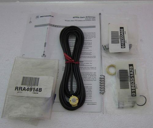 antena de techo con base motorola rra4914b 806-870 mhz  mg-