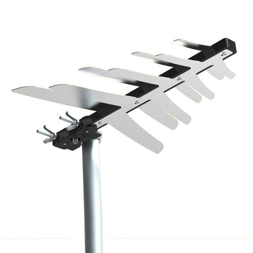 antena digital externa tv fm uhf hdtv 6100 bedin sat