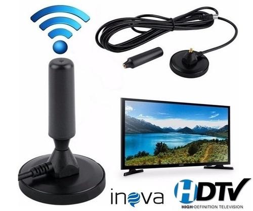 antena digital hdtv ultra resistente  inova alta qualidade