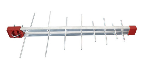 antena digital log16 4k uhf 16 elementos hdtv  - antena externa capte
