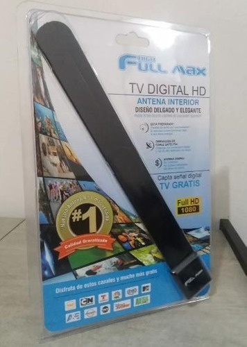 antena digital para tv full max smart tv led lcd plasma