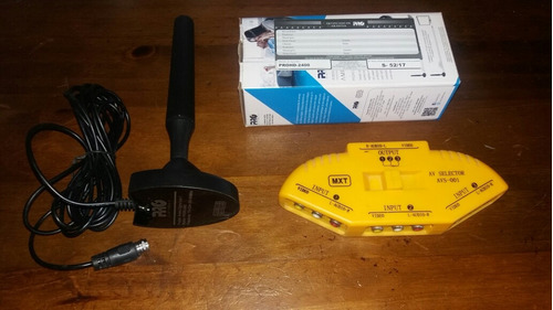 antena digital pro eletronic + chave seletora in / out