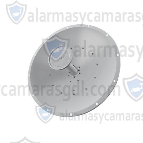 antena direccional rocketdish airmax, ideal para enlaces punto a punto (ptp), frecuencia 5 ghz