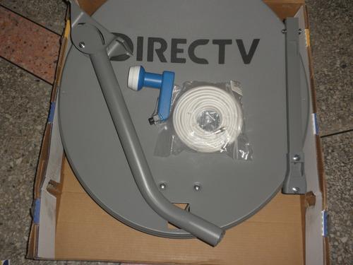 antena directv +lnb azul hd+15 metros de cable (30$)