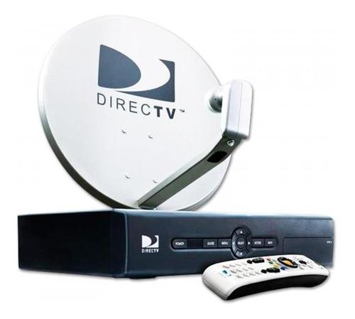 antena directv prepago kit 45cm decodificador control