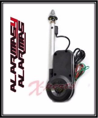 antena electrica universal para vehiculo alarmas y alarmas