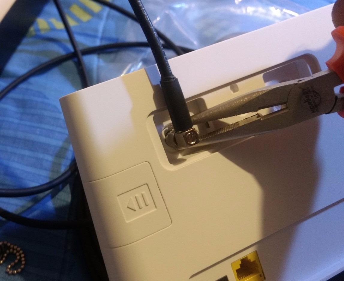 Antena Exterior Banda 4g Para Router Internet B310 75
