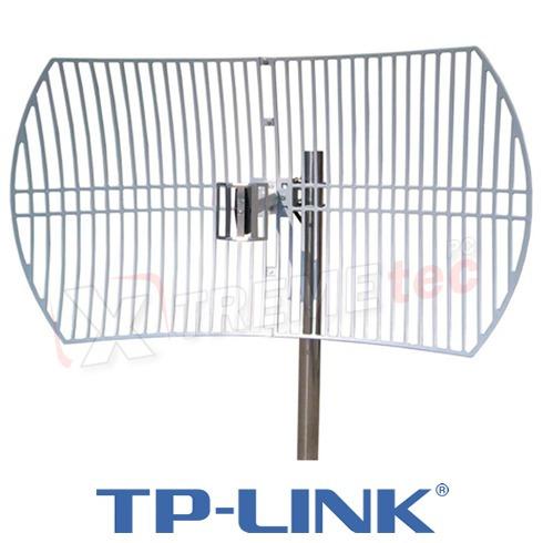 antena exterior tp-link tl-ant2424b direccional 24 dbi 56 km