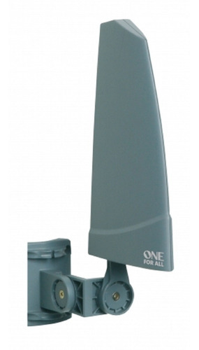 antena externa amplificada de 36 db tv