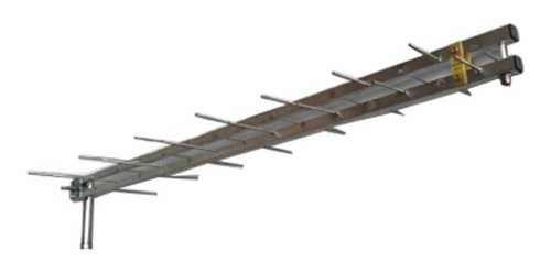 antena externa log 28 elementos uhf hdtv digital bedin sat