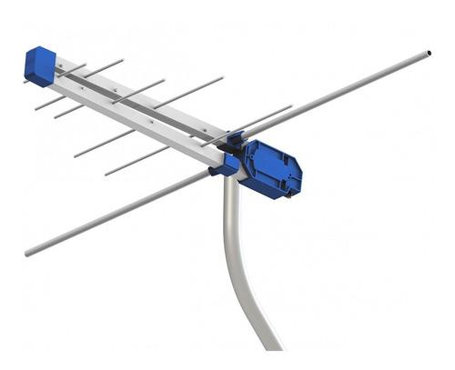 antena externa proeletronic prohd-3610 vhf/ uhf/ tv digital