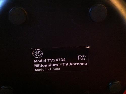 antena general electric tv 24734
