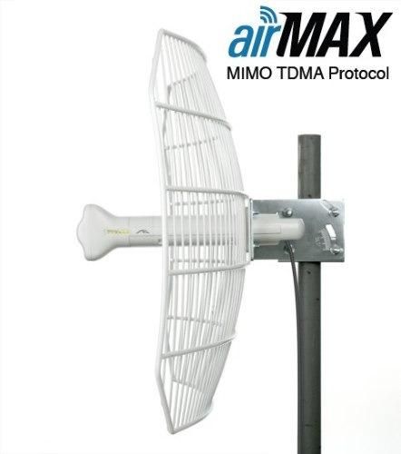 antena grilla+ radio airgrid m5 27 dbi ag-5g27 ubiquiti 5ghz