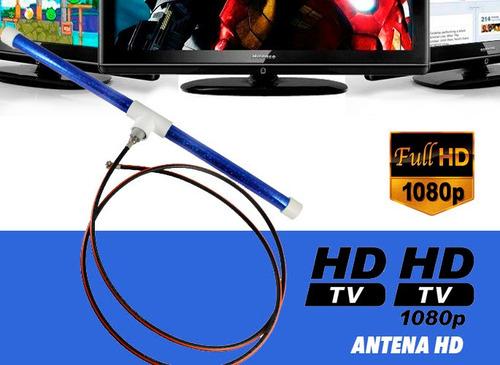 antena hd de alta ganancia, compatible con decodificadores,