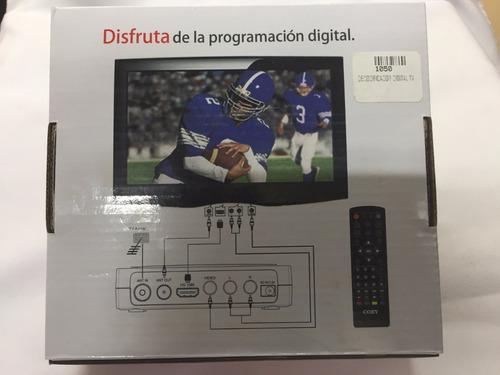 antena hd + decodificador digital para tv apagon analogico