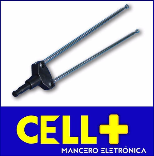 antena hd tv digital  para interiores  cable plano