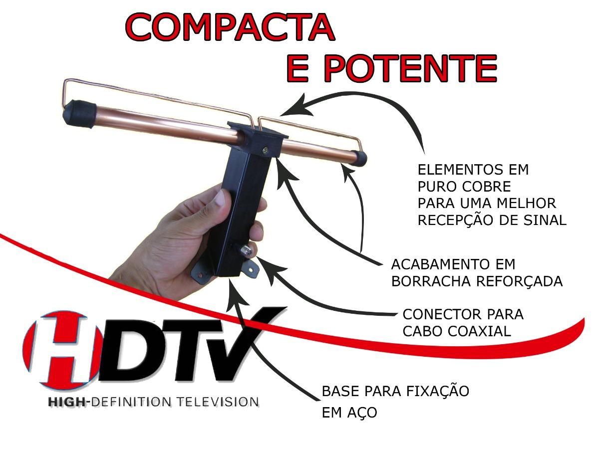 Antena hdtv uhf vhf tv led lcd tv 3d plasma full hd r - Antenas de television ...