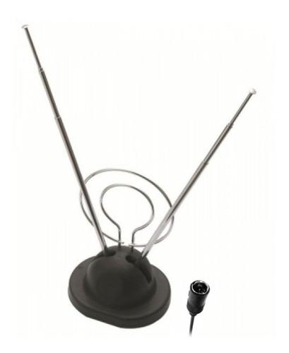 antena interna dupla com base uhf, vhf e fm 008-8701