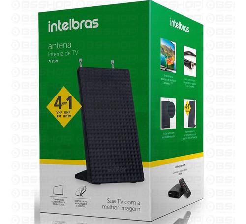 antena interna tv digital fm uhf vhf hdtv ai 2021 intelbras