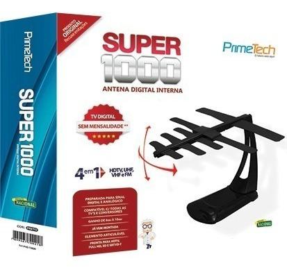 antena interna uhf digital prime tech super 1000