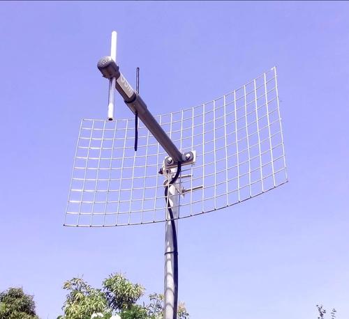 antena interperie telular para puntos de venta (7km)