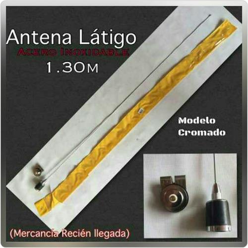 antena látigo (cromada)