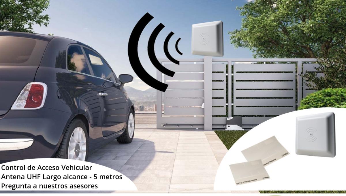 Antena Lector Uhf Para Control De Entrada Acceso Vehicular