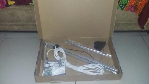 antena log externa para tv uhf aquário(antena tv digital )