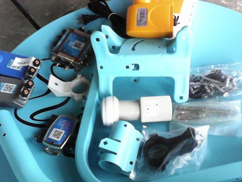 antena movistar lnb fuente cable multisuichee conectores etc